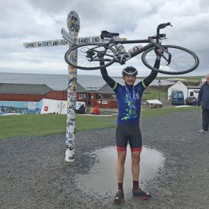LEJOG finish