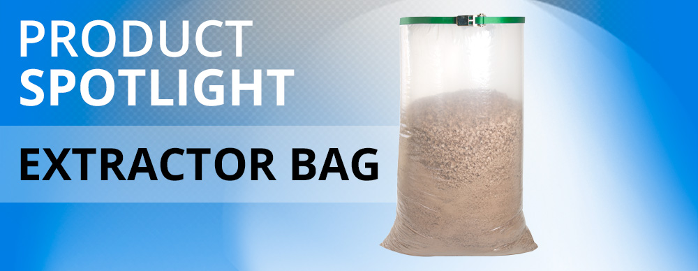 Dust Extractor bag spotlight