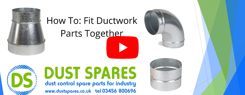 How To - Fit Ductwork Parts Together Banner