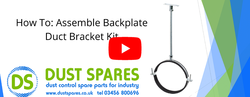 How To - Assemble Backplate Duct Bracket Kit Banner
