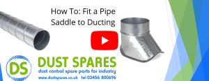 How To - Fit a Pipe Saddle to Ducting Banner