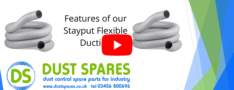 Features of our Stayput Flexible Ducting Banner