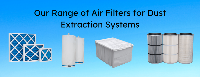 Our Range of Air Filters Banner