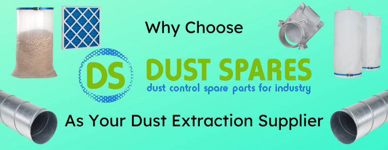 Why Choose Dust Spares as Your Dust Extraction Supplier Banner