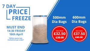Image to show the price freeze that runs out on the 16th April at 14:30 GMT