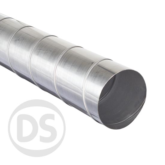 Stainless steel spiral duct sizes mm dia