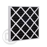Card Case Carbon Pleated