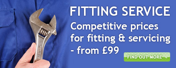 Fitting service from £99